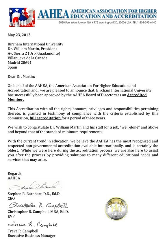 AAHEA - American Association for Higher Education and Accreditation