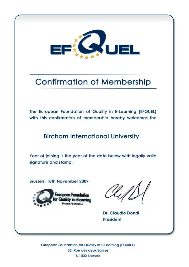 EFQUEL - European Foundation for Quality in eLearning