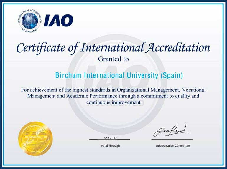 IAO - International Accreditation Organization