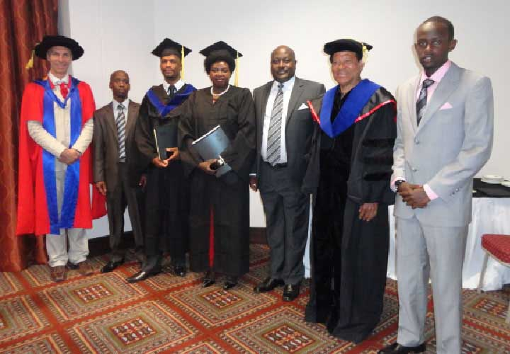 Bircham University 2012 Namibia Windhoek Graduation