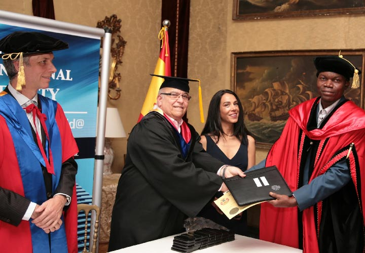 Bircham University 2014 Spain Madrid Graduation